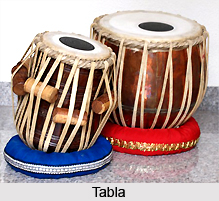 Tabla, Percussion Instruments in India