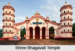 Shree Bhagavati Temple , North Goa