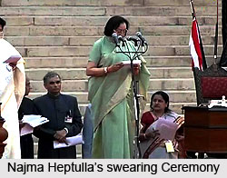 Dr. Najma Heptulla, Minister of Minority Affairs