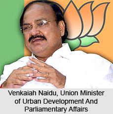 Venkaiah Naidu, Minister of Urban Development and Parliamentary Affairs
