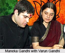 Maneka Gandhi, Indian Union Cabinet Minister