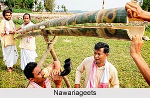 Nawariageets, Assamese Folk Music