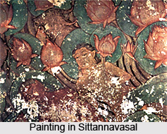 Sittannavasal, Jain center of early Pandya paintings