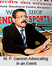 M. P. Ganesh, Indian Hockey Player