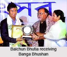 Baichung Bhutia, Indian Football Player