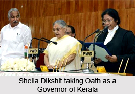 Sheila Dikshit, Governor of Kerala