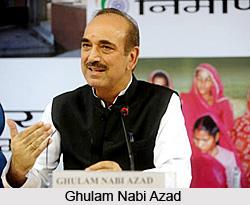 Ghulam Nabi Azad, Indian Politician