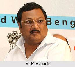 M. K. Azhagiri, Indian Politician