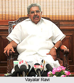 Vayalar Ravi, Indian Politician