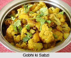 Gobhi Ki Sabzi, Indian Venegtables