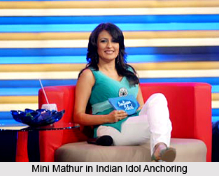 Mini Mathur, Indian TV Anchor