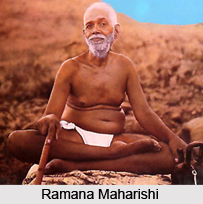 Ramana Maharishi,  Indian Saint
