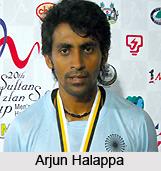 Arjun Halappa  , Indian Hockey Player