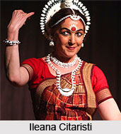 Ileana Citaristi,  Indian Dancer