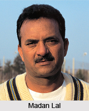 Madan Lal, Indian Cricketer