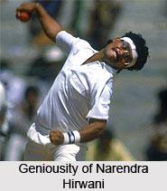 Narendra Hirwani, Madhya Pradesh Cricket Player