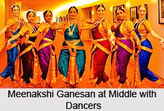 Meenakshi Ganesan , Indian Dancer