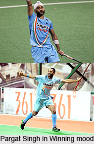 Pargat Singh  , Indian Hockey Player