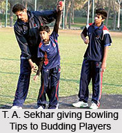 T.A. Sekhar, Indian Cricket Player