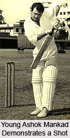 Ashok Mankad , Indian Cricketer
