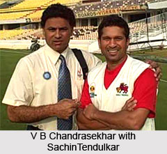 V B Chandrasekhar, Indian Cricket Player