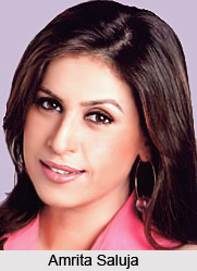 Amrita Saluja, Indian TV Actress