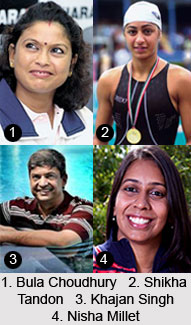Arjuna Awardees in Swimming