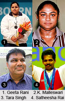 Arjuna Awardees in Weightlifting