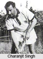 Charanjit Singh  , Indian Hockey Player