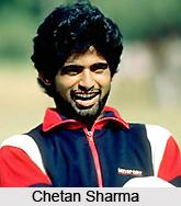 Chetan Sharma, Haryana Cricket Player