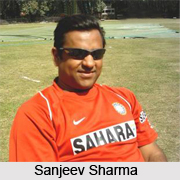 Sanjeev Sharma, Delhi Cricket Player