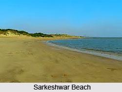 Sarkeshwar Beach, Saurashtra, Gujarat