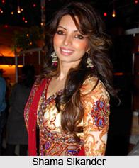 Shama Sikander, Indian Television Actress