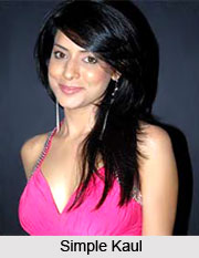 Simple Kaul, Indian Television Actress
