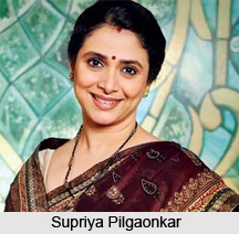 Supriya Pilgaonkar, Indian TV Actress