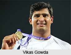 Vikas Gowda, Indian Discus Thrower