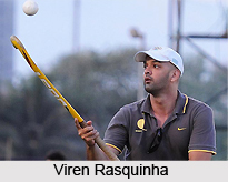 Viren Rasquinha  , Indian Hockey Player