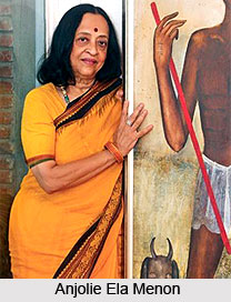 Anjolie Ela Menon, Indian Painter
