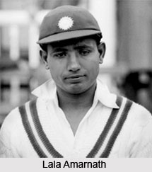 Lala Amarnath, Indian Cricketer