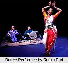 Rajika Puri,  Indian Dancer