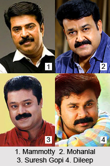 Malayalam Actors, Indian Cinema