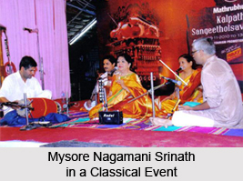 Mysore Nagamani Srinath, Indian Classical Vocalists