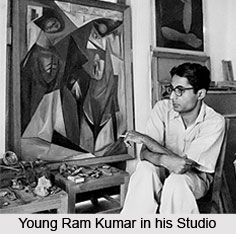 Ram Kumar, Indian Painter
