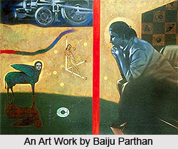 Baiju Parthan, Indian Painter