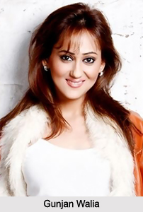 Gunjan Walia, Indian TV Actress