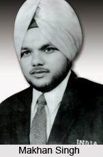 Makhan Singh , Indian Athlete