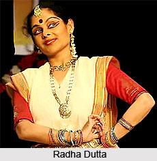 Radha Dutta,  Indian Dancer
