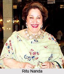 Ritu Nanda, Daughter of Raj Kapoor