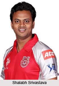 Shalabh Srivastava, Uttar Pradesh Cricketer