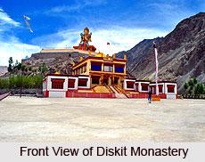 Diskit Monastery, Leh